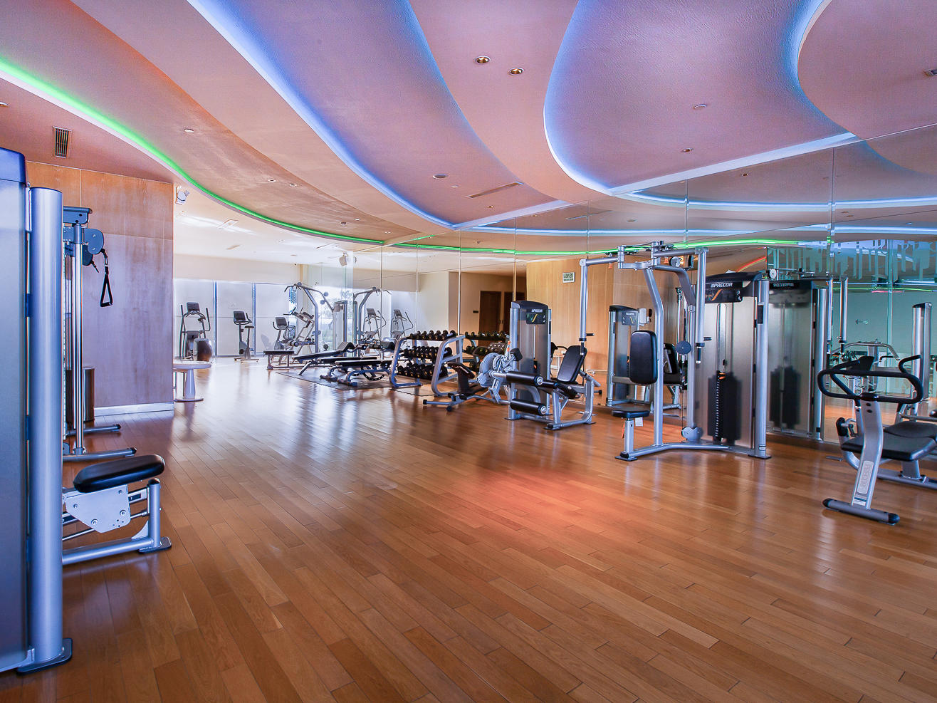 Flex & Fit Health Club in Vasa Hotel Surabaya