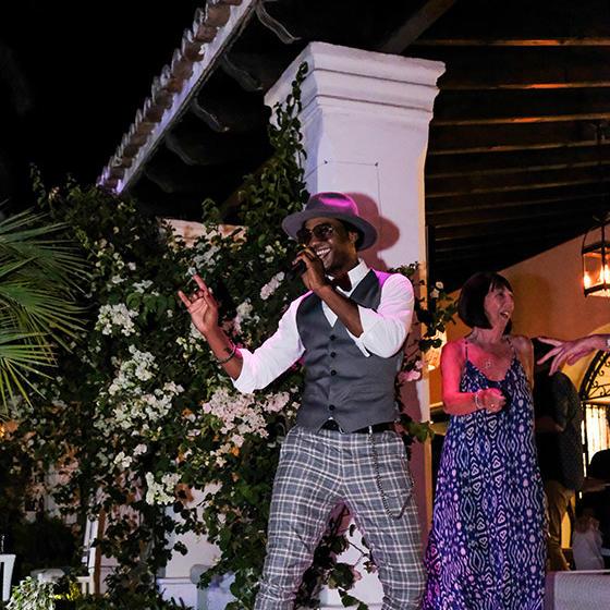 Live music at Marbella Club