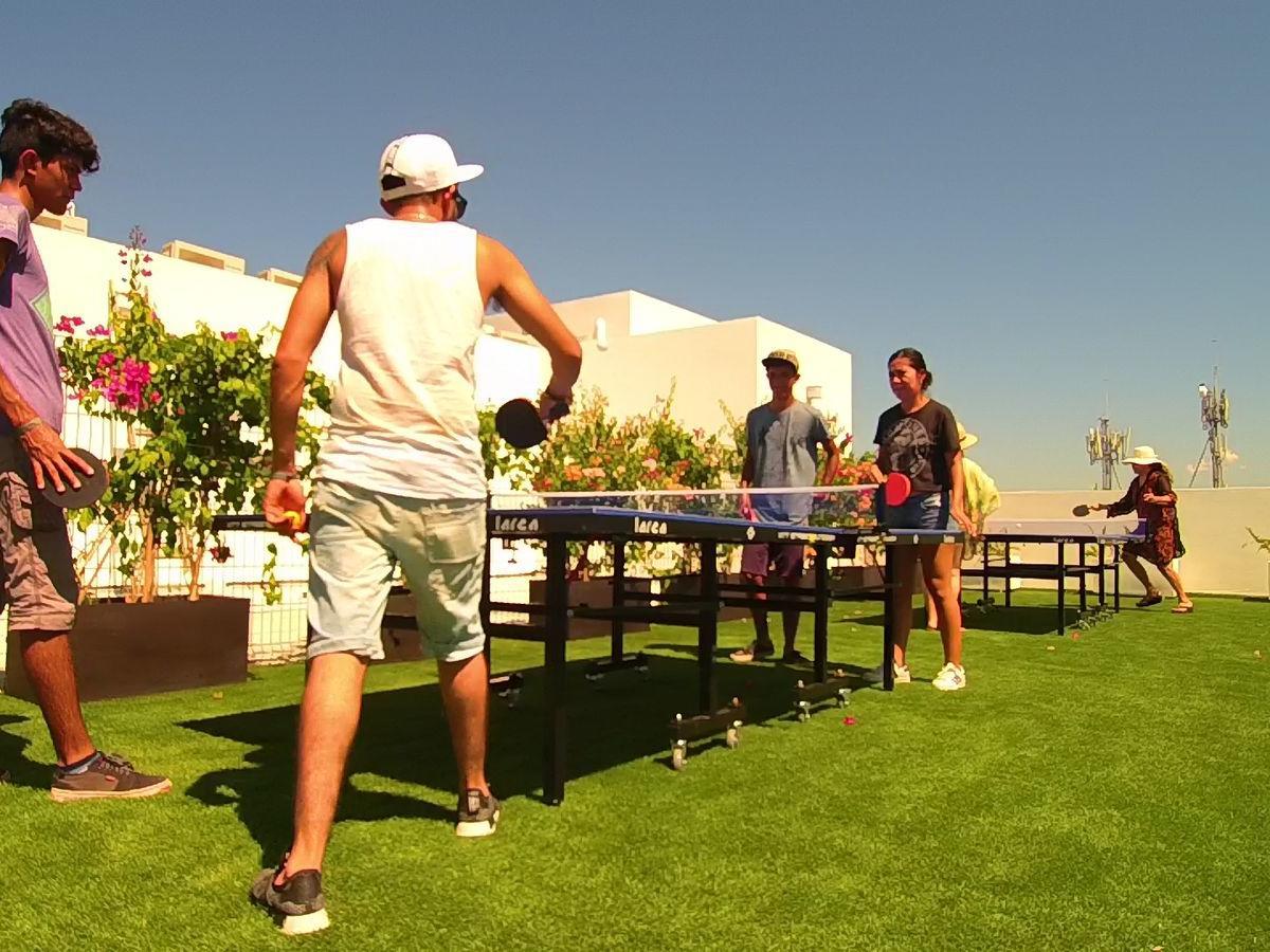 Ping Pong Tables facilities at Hotel Villa Varadero