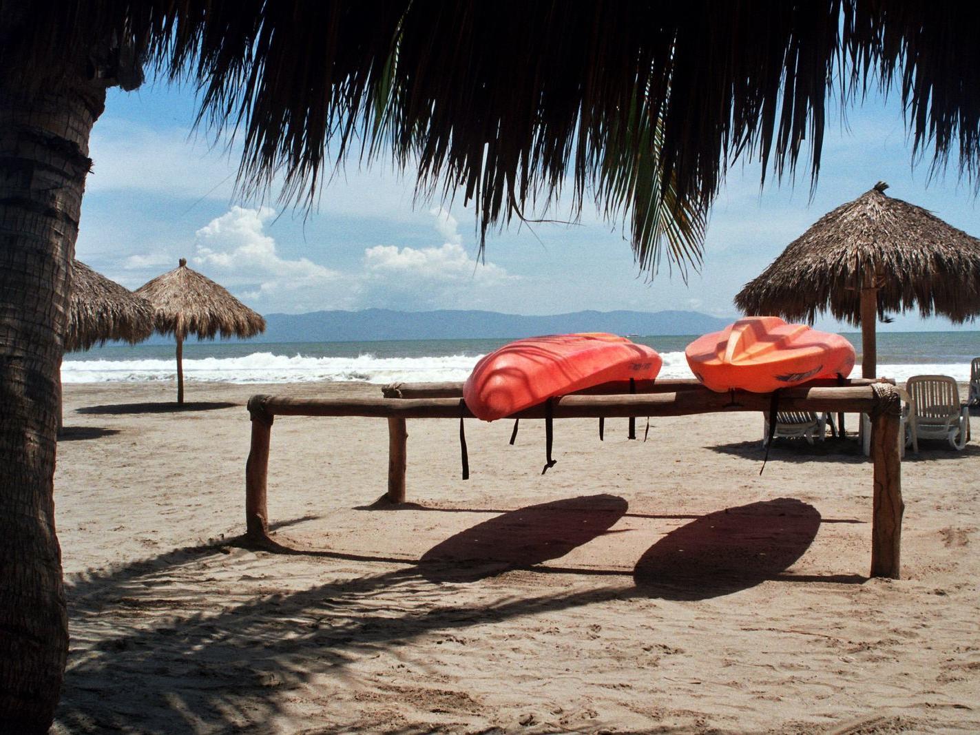 Kayaks at Hotel Villa Varadero