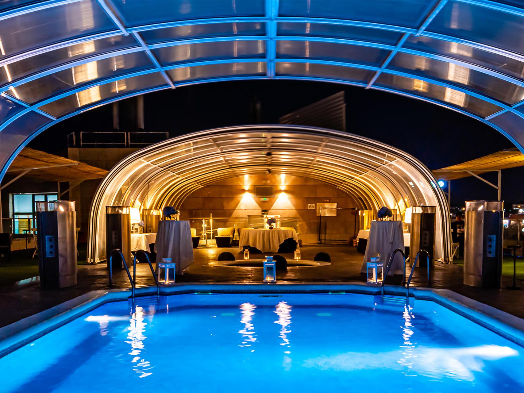 Pool at Hotel Amura Alcobendas near Madrid Airport