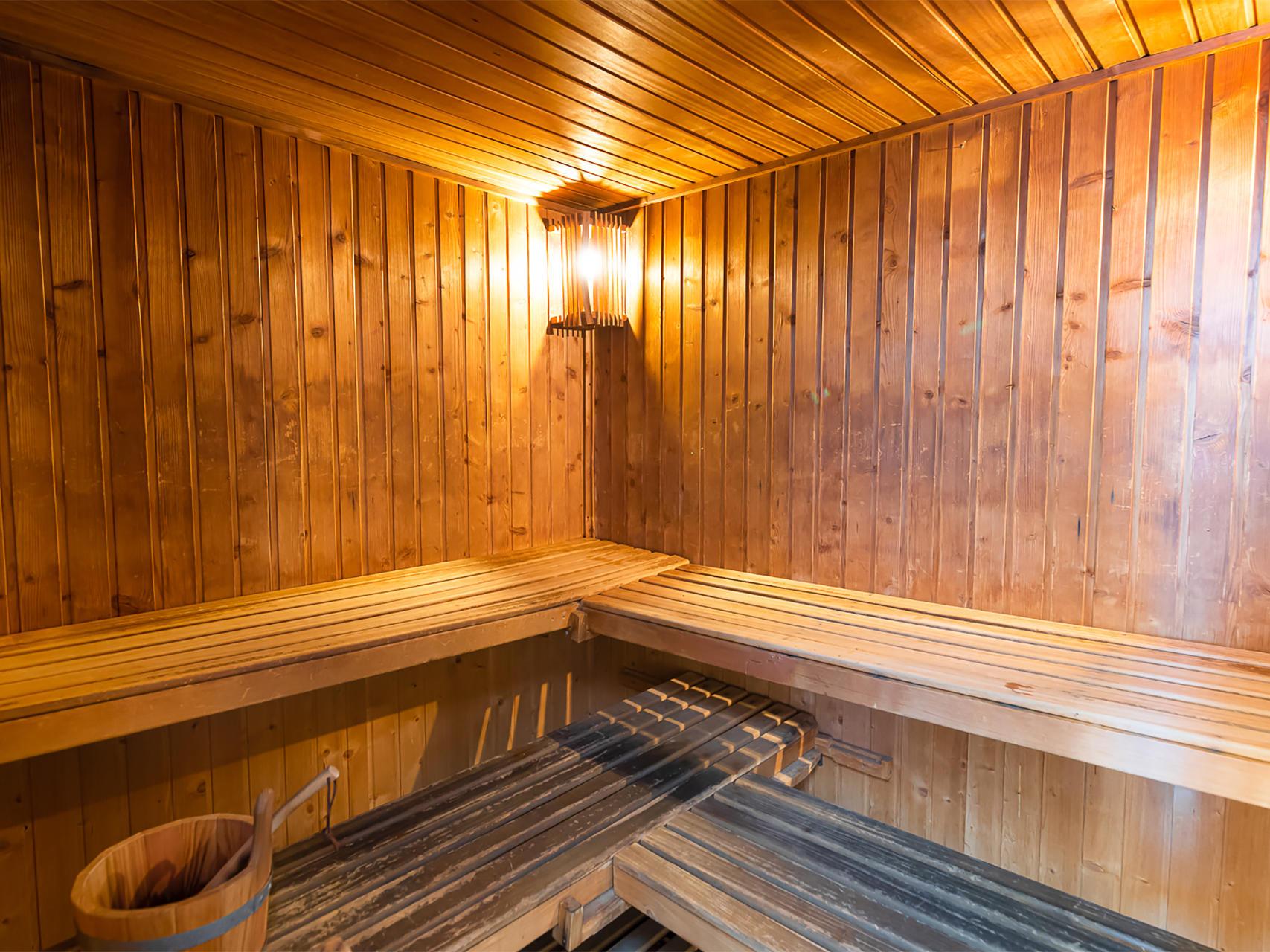 Sauna at Hotel Amura Alcobendas near Madrid Airport