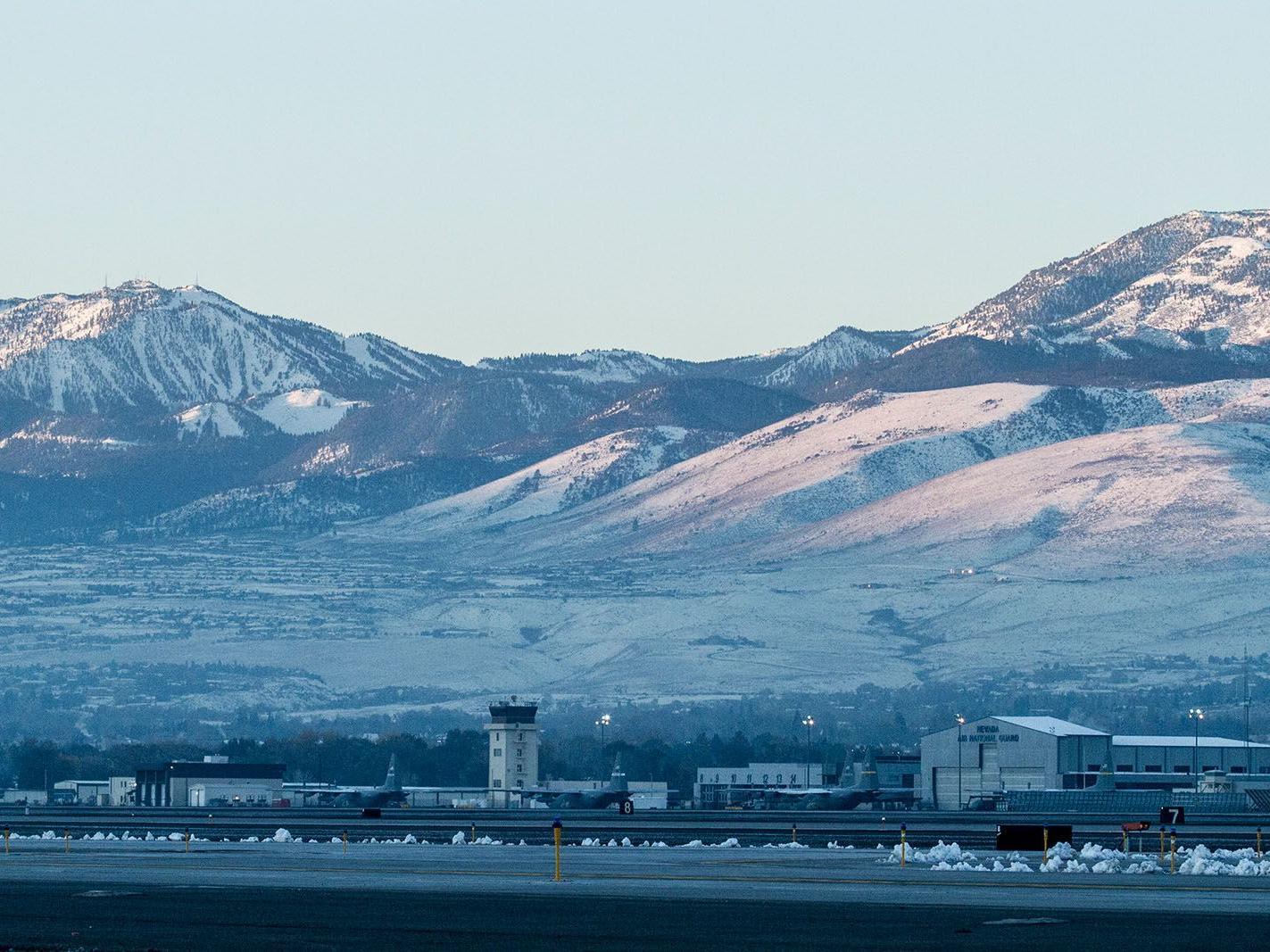beautiful mountains in Nevada