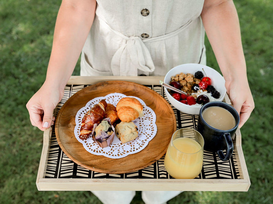 Breakfast Tray-Continental Breakfast