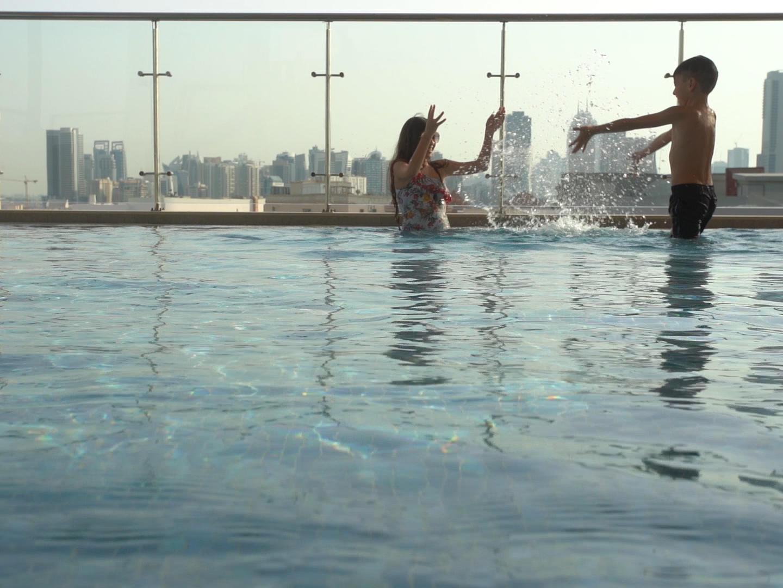 Children's Pool at Grand Cosmopolitan Hotel in Dubai
