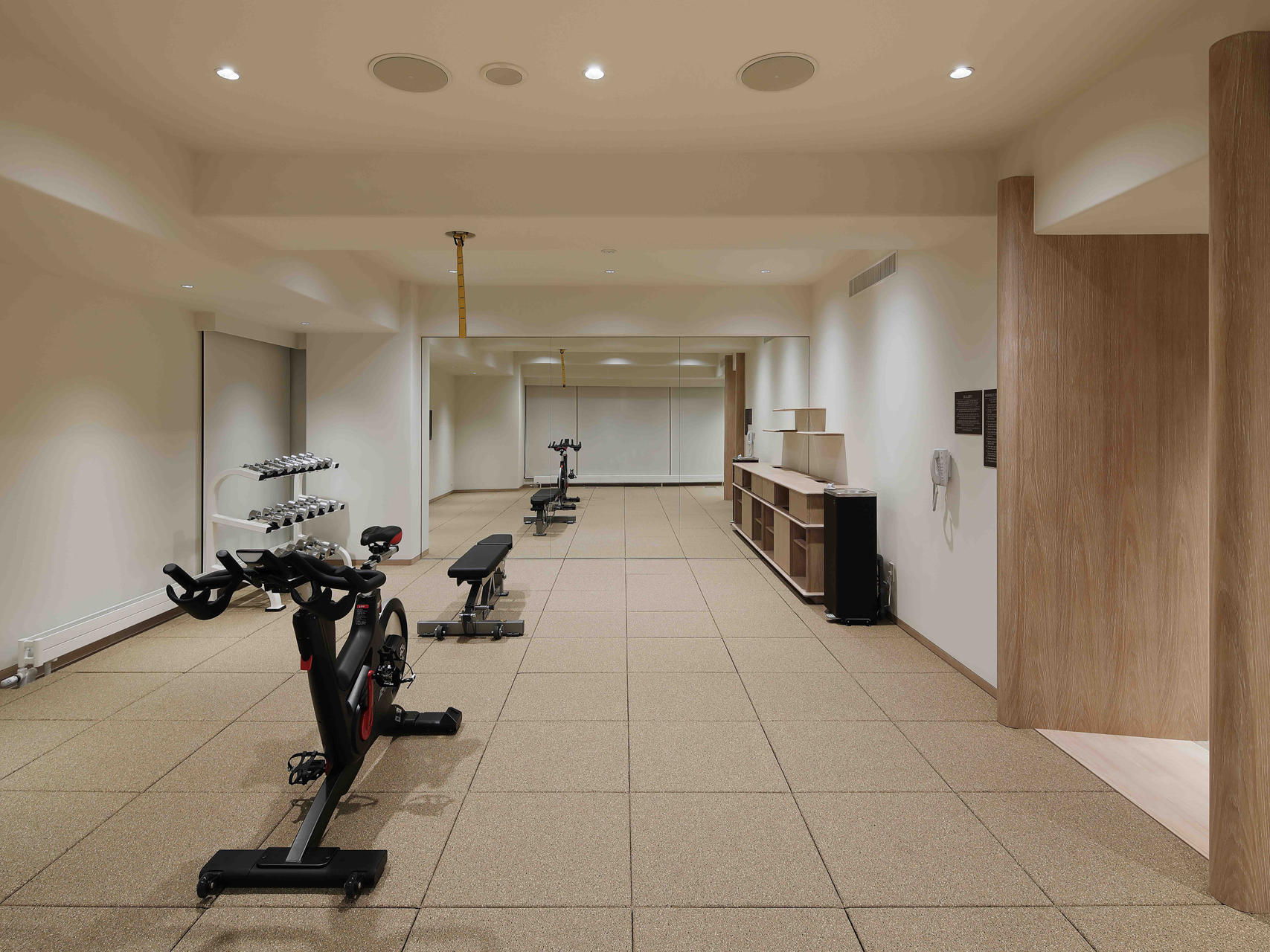 View of Fitness center at Chatrium Niseko Japan