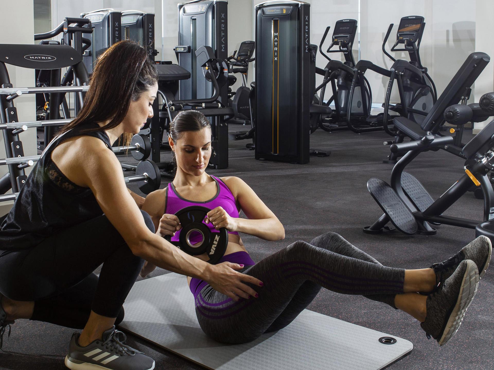 Matrix Fitness Centre at Grand Cosmopolitan Hotel in Dubai