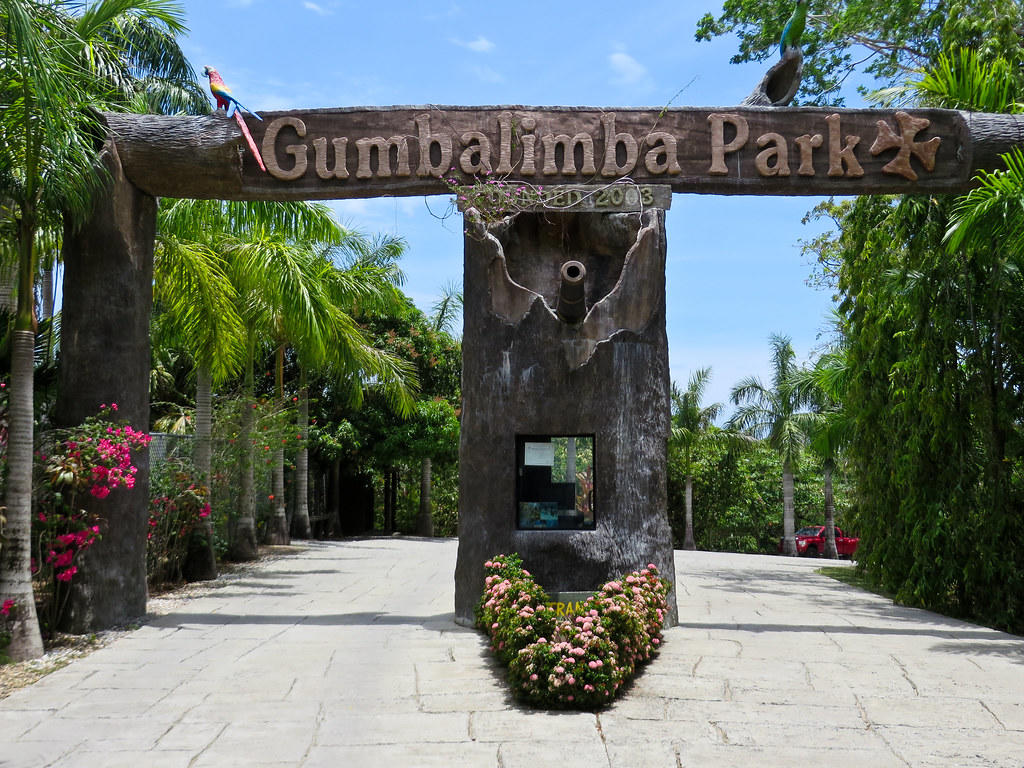 entrance to gumbalimba park