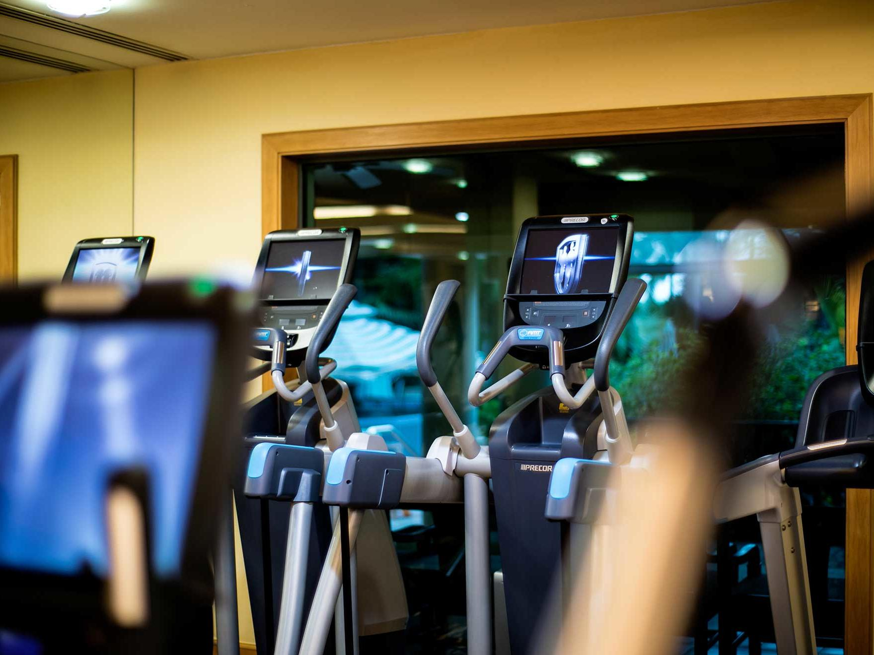 Treadmills in gym at Artyzen Grand Lapa Hotel Macau