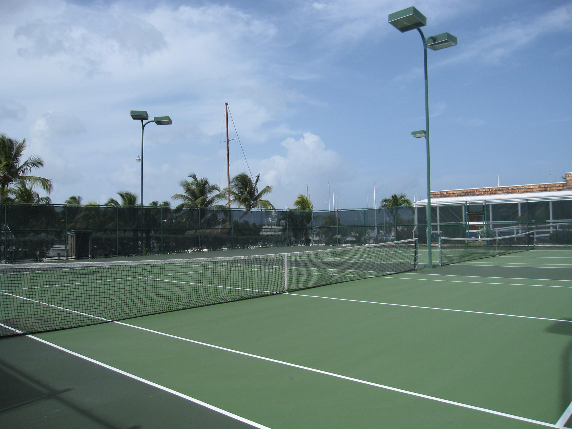 Tennis Court at Tamarind Reef Resort