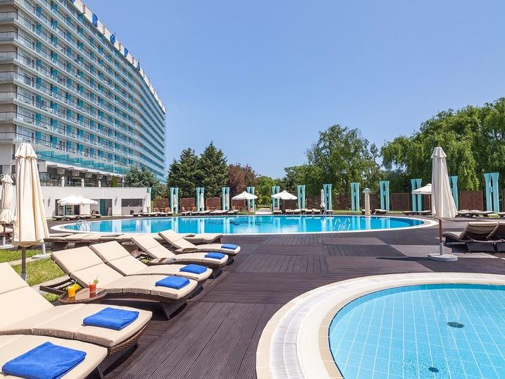 Outdoor Swimming Pool at Ana Hotels Europa Eforie Nord