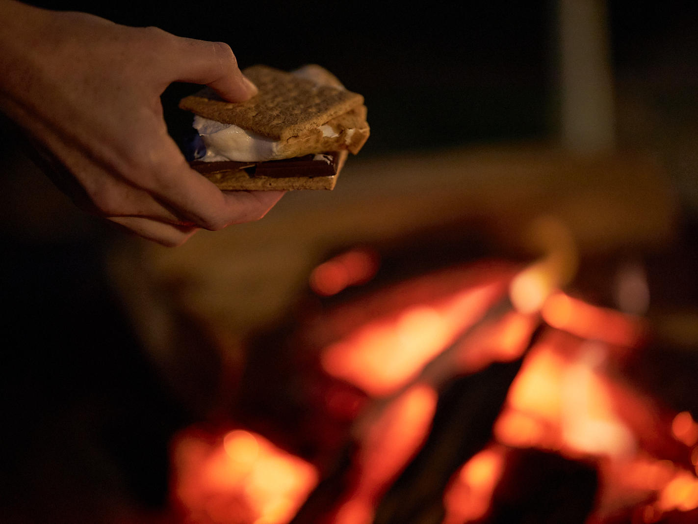 Evening S'mores Event at The Roundtree, Amagansett, Hotel in Hamptons