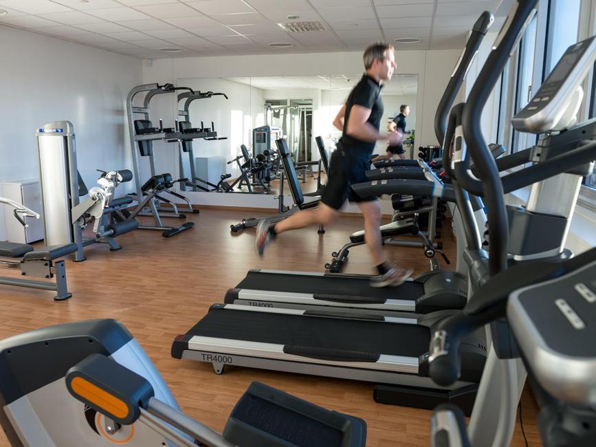 Gym at Hotel Birger Jarl in Stockholm, Sweden