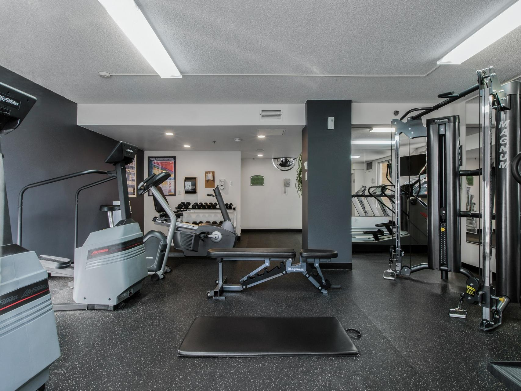Fitness Centre at Hotel Faubourg Montreal