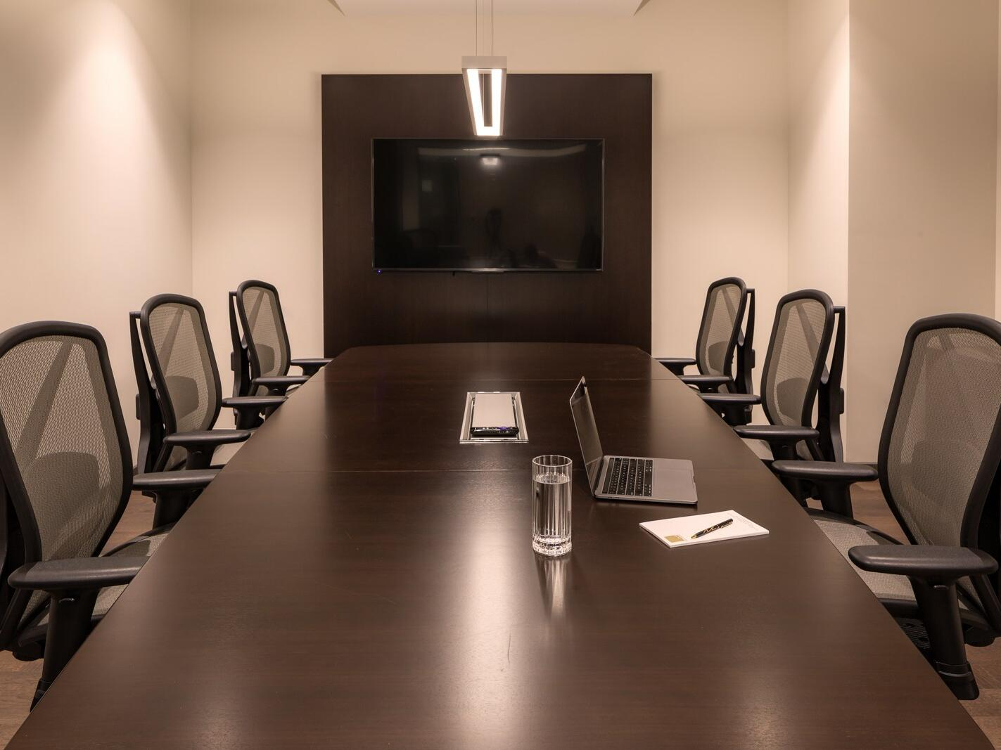 metting room with conference table