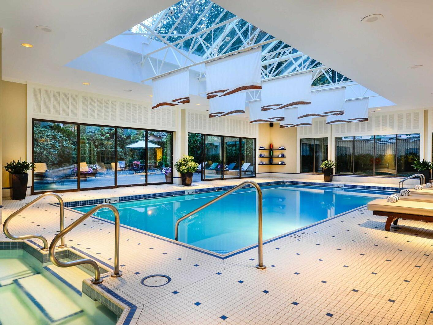 Indoor pool The Sutton Place Hotels