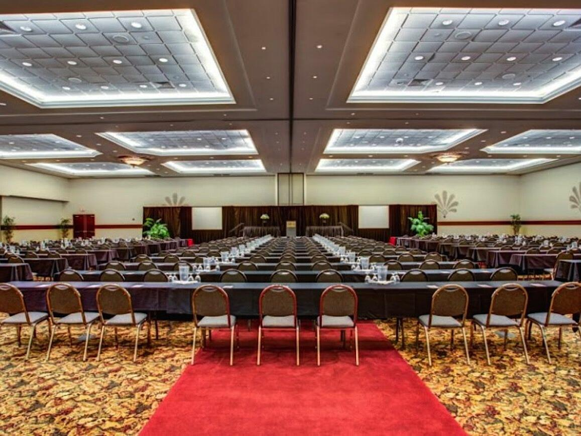 Meeting and banquet space at the Alexis Park Resort