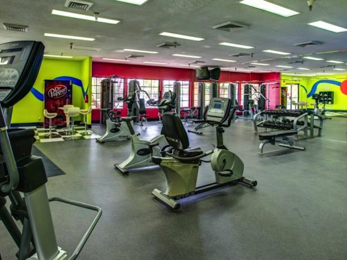 Gym at the Alexis Park Resort
