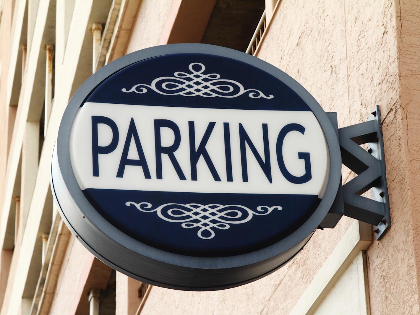 Parking Area  at Grand Hotel Minerva