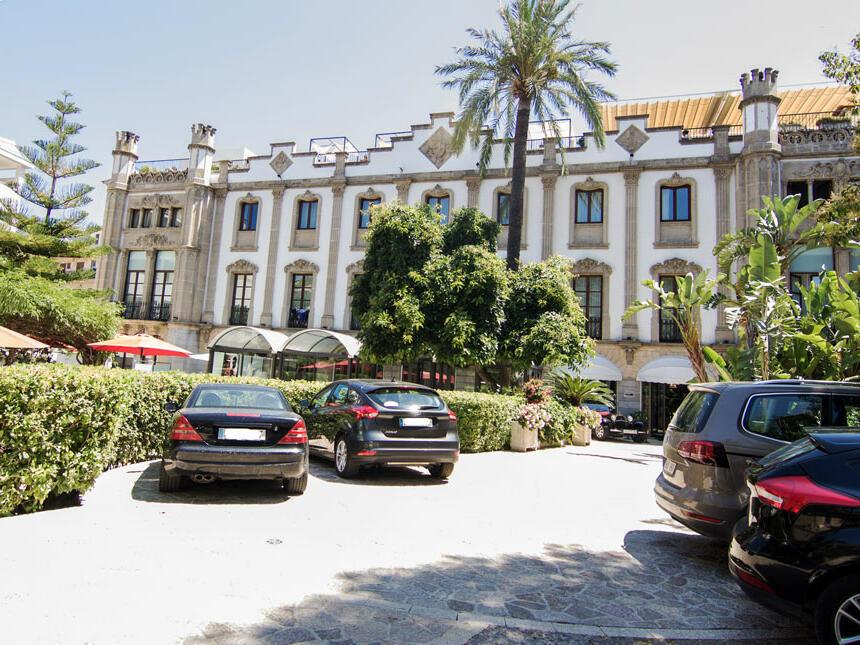 Parking pour les clients - Gran Hotel Soller