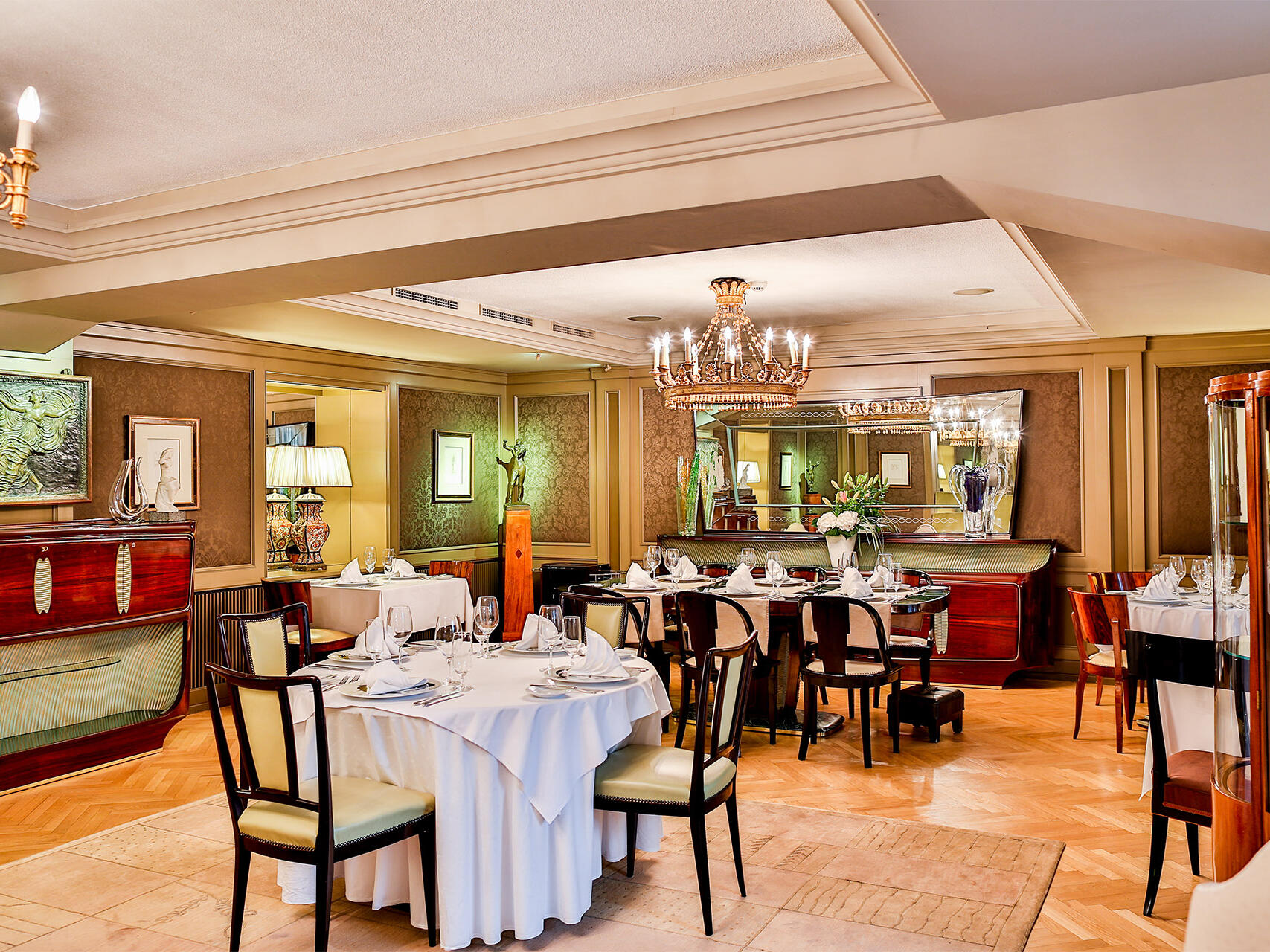 Coda Restaurant at Aria Hotel in Prague