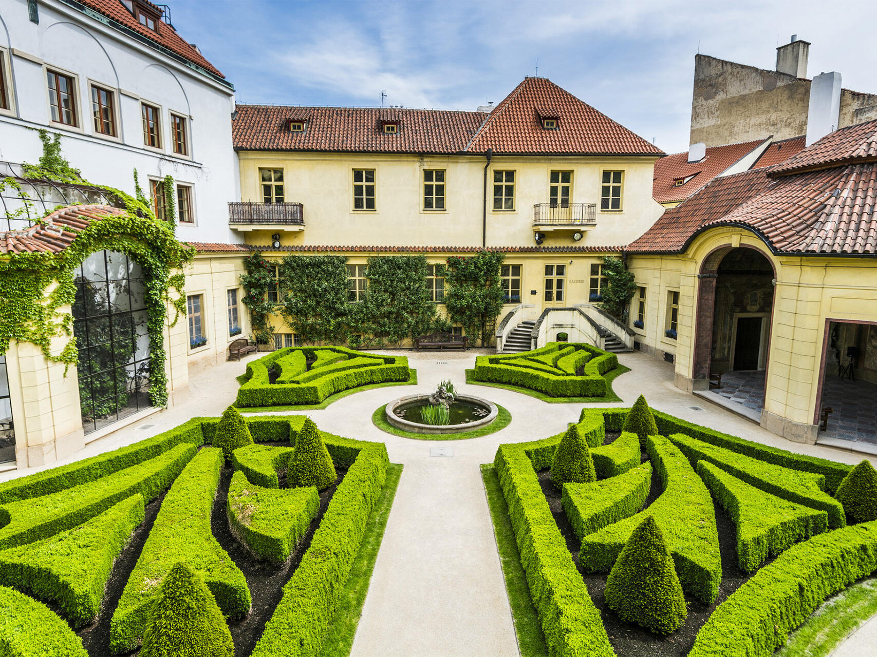 Vrtba Garden at Aria Hotel in Prague