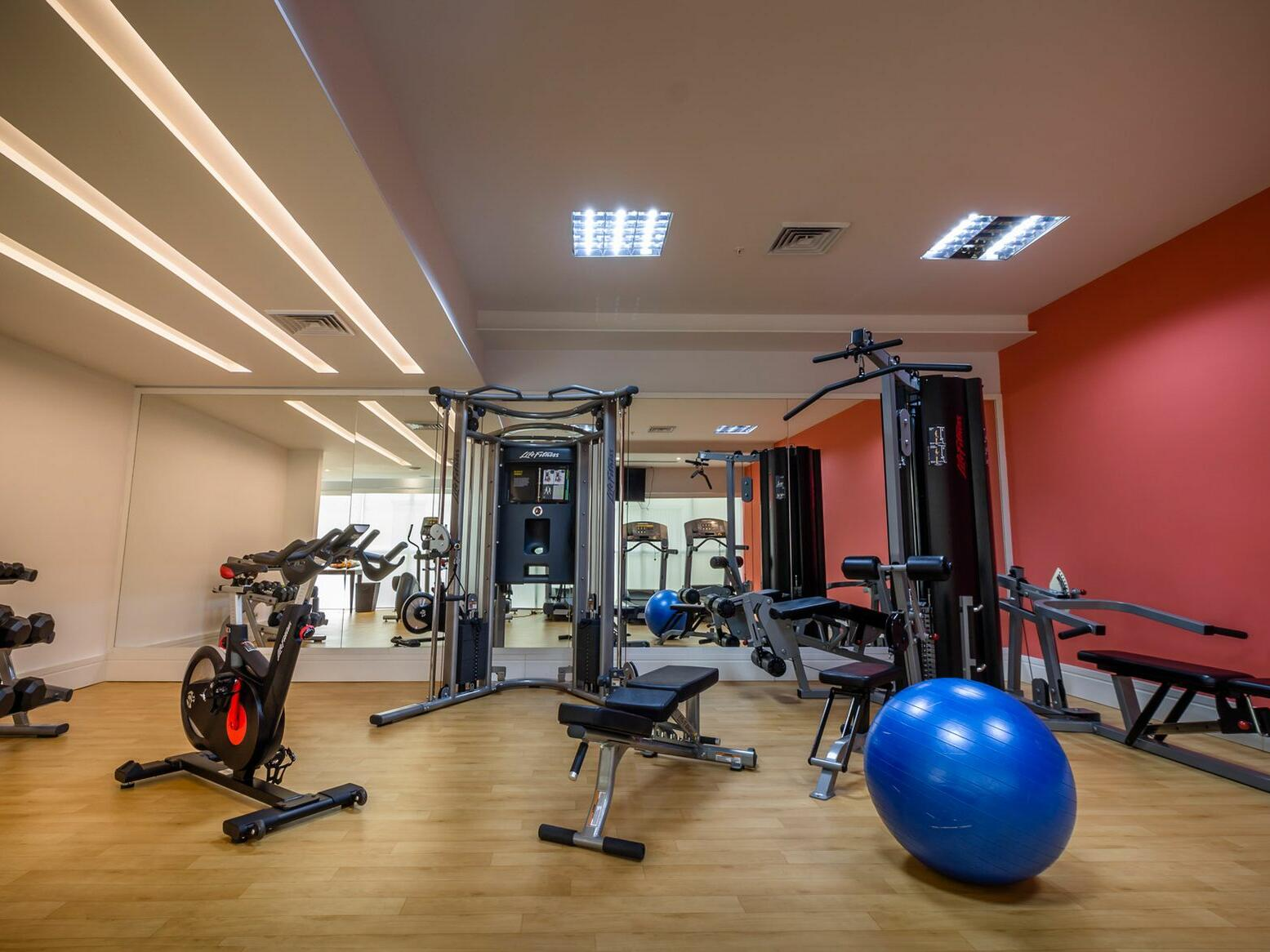 Fitness Center and the Gym at Central Hotel Panama