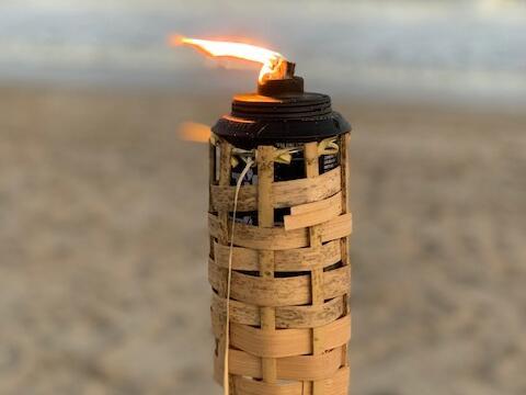 Bonfire tiki torch