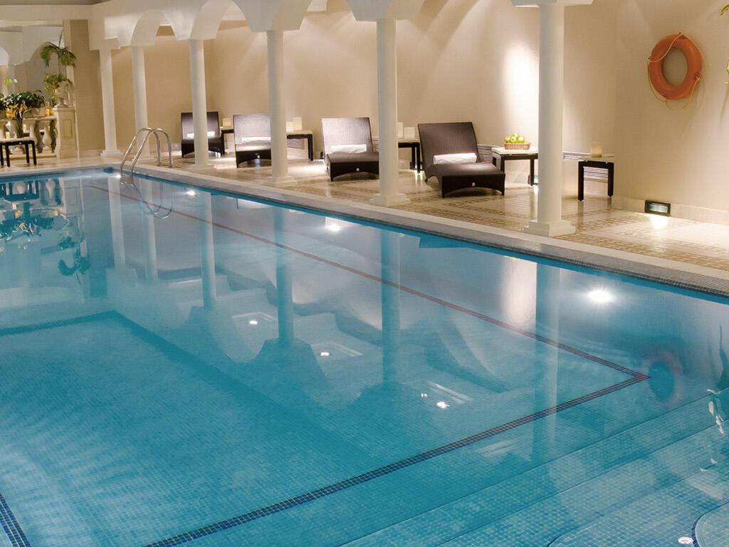 Indoor swimming pool at Hotel Emperador Buenos Aires