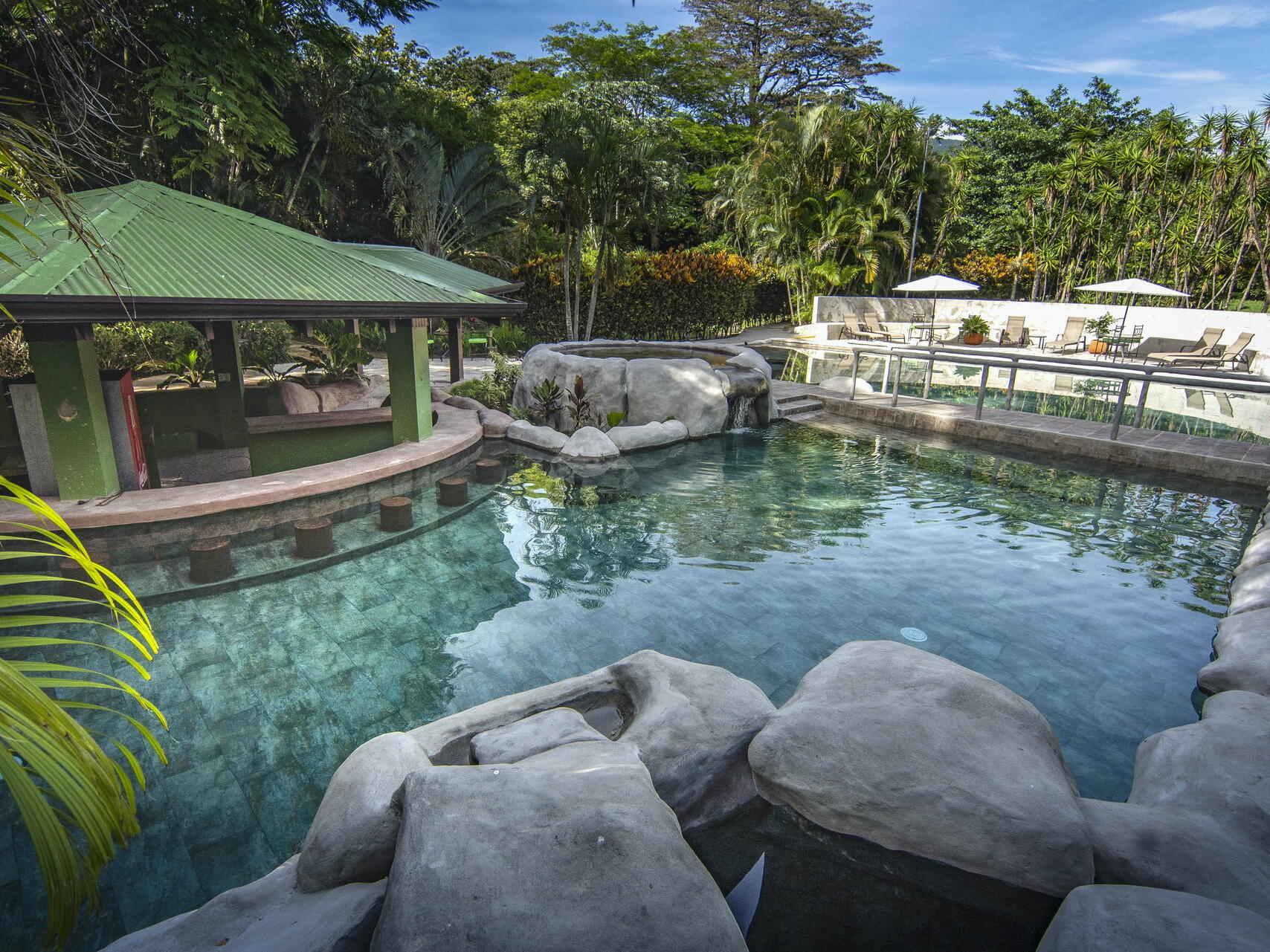 Pool with an eye catching Surrounding at Buena Vista Del Rinco