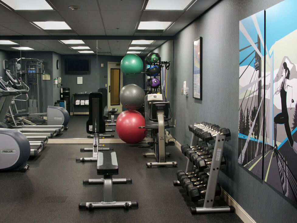 Gym & Fitness Center at The Paramount Hotel Portland