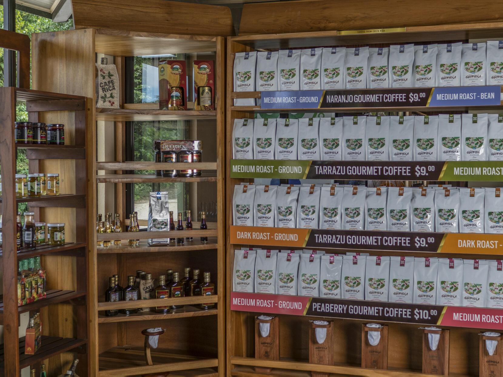 Coffee Shop with Many Coffee Types at Buena Vista Del Rincon