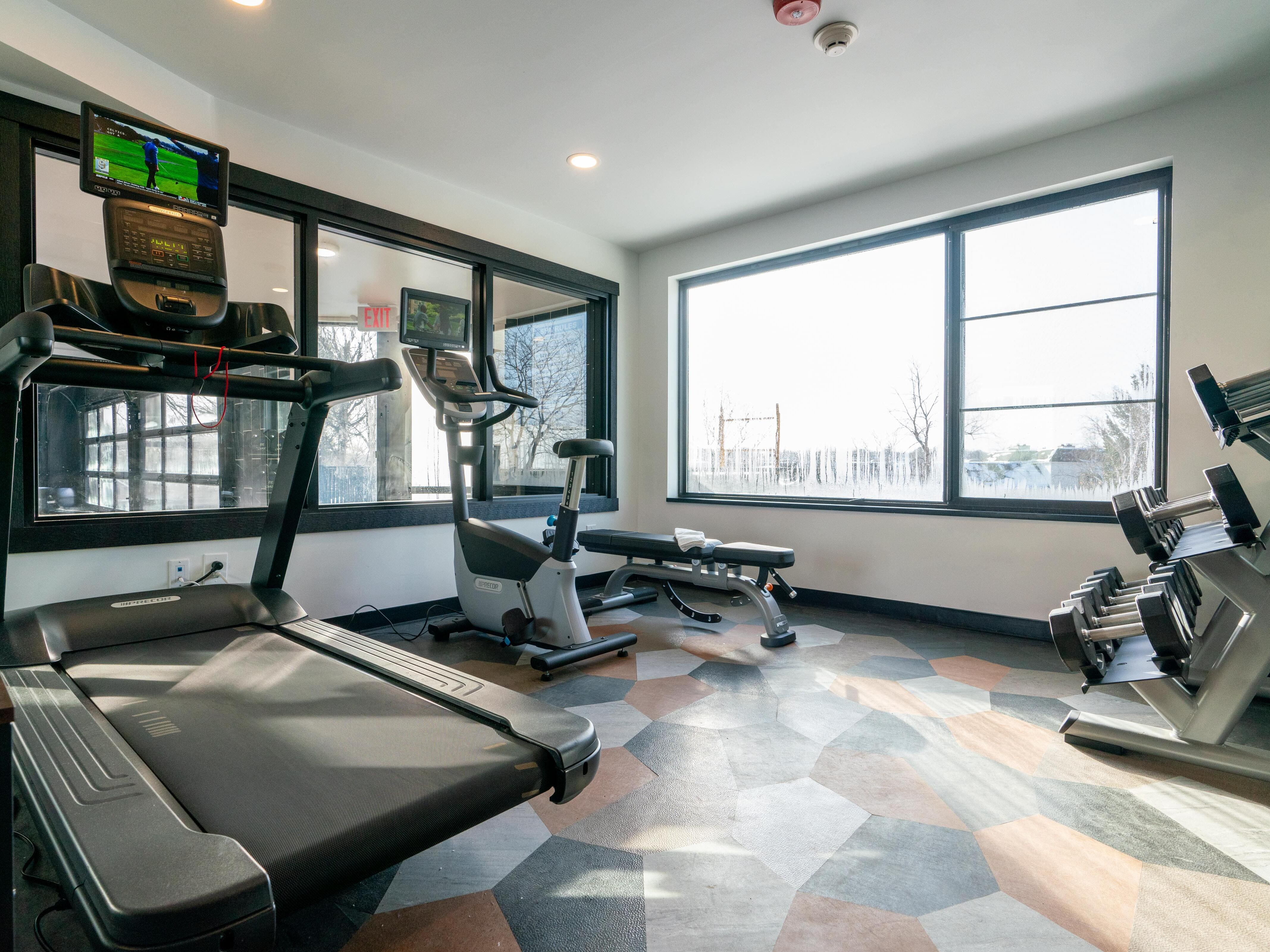Fitness center at Hotel Earl