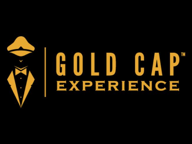 Gold Cap Experience logo at Hotel at Old Town Wichita