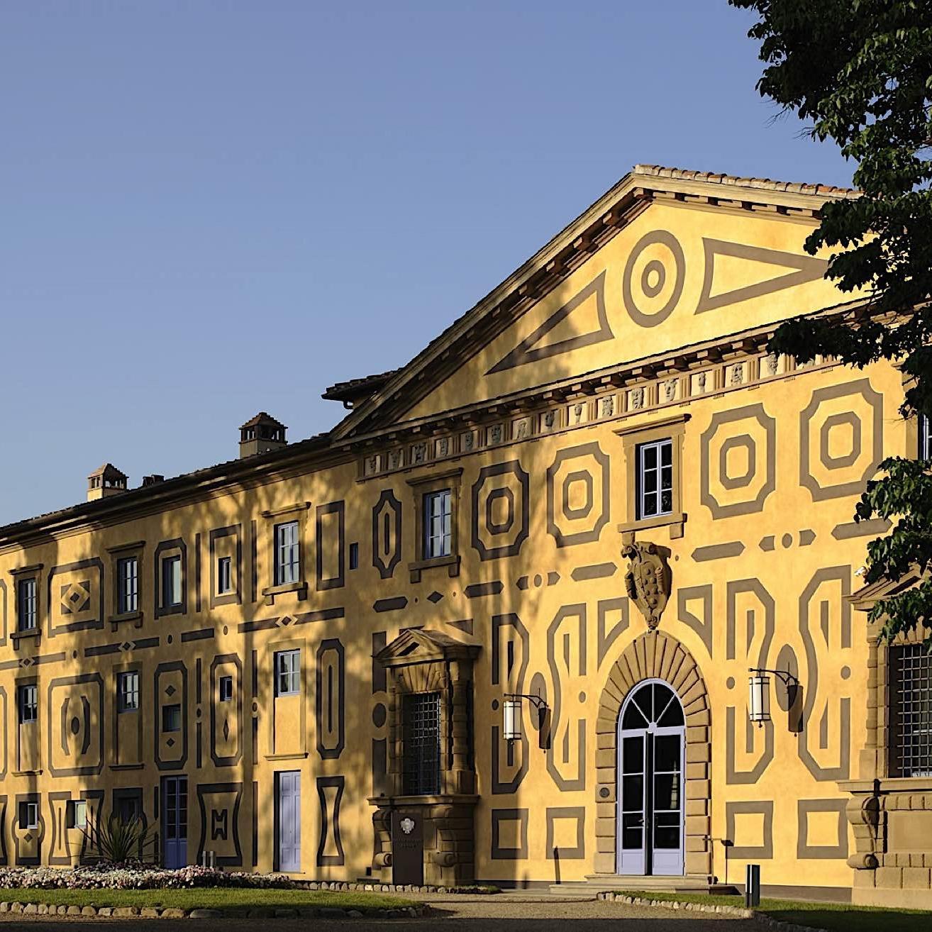 Entrance | Villa Le Maschere