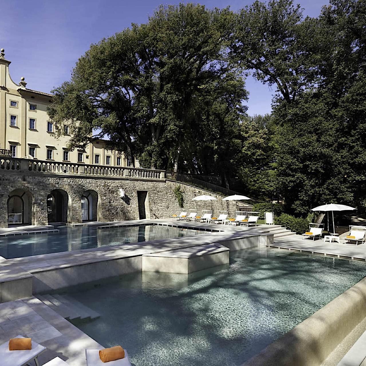 Exterior Pool | Villa Le Maschere