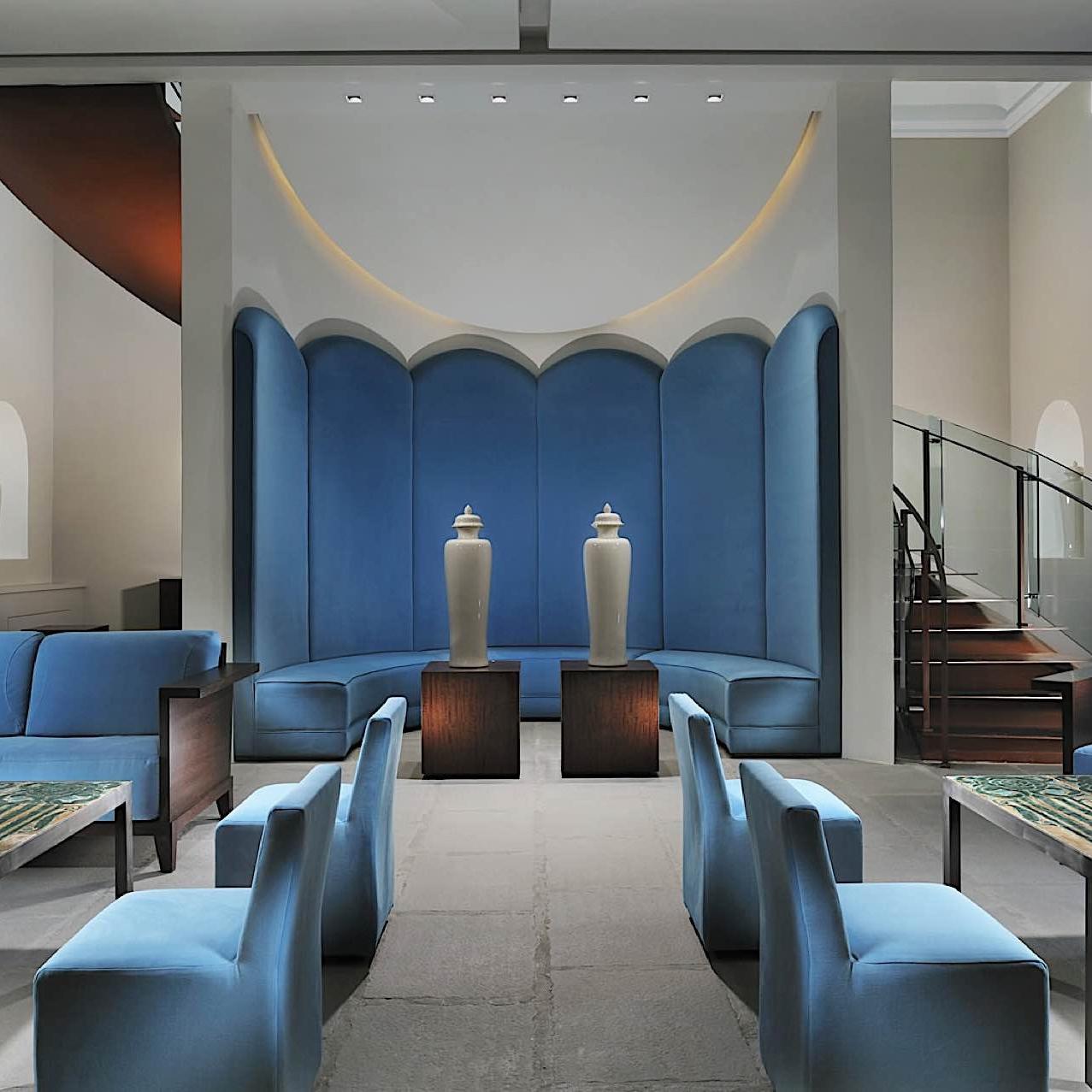 Lobby Chini Pavilion | Villa Le Maschere
