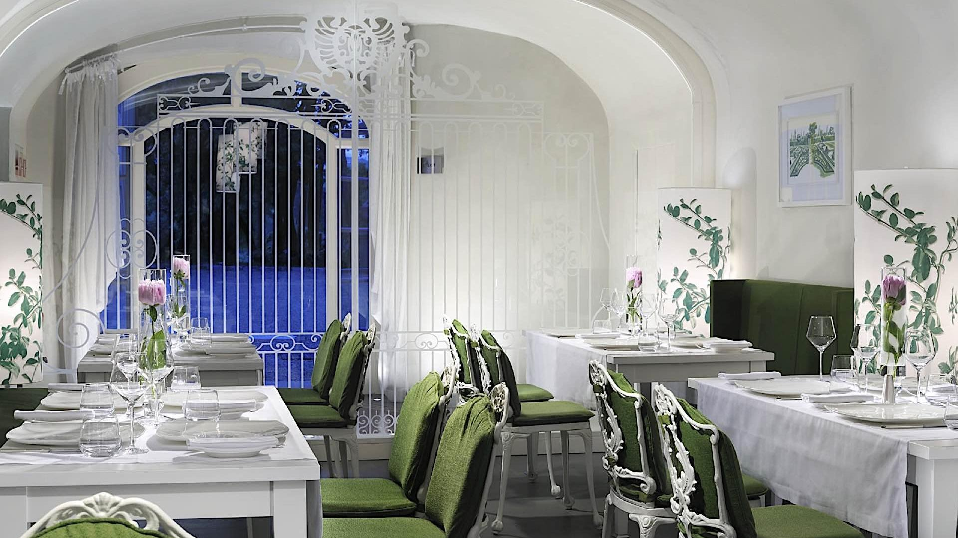 Restaurant   Villa Le Maschere