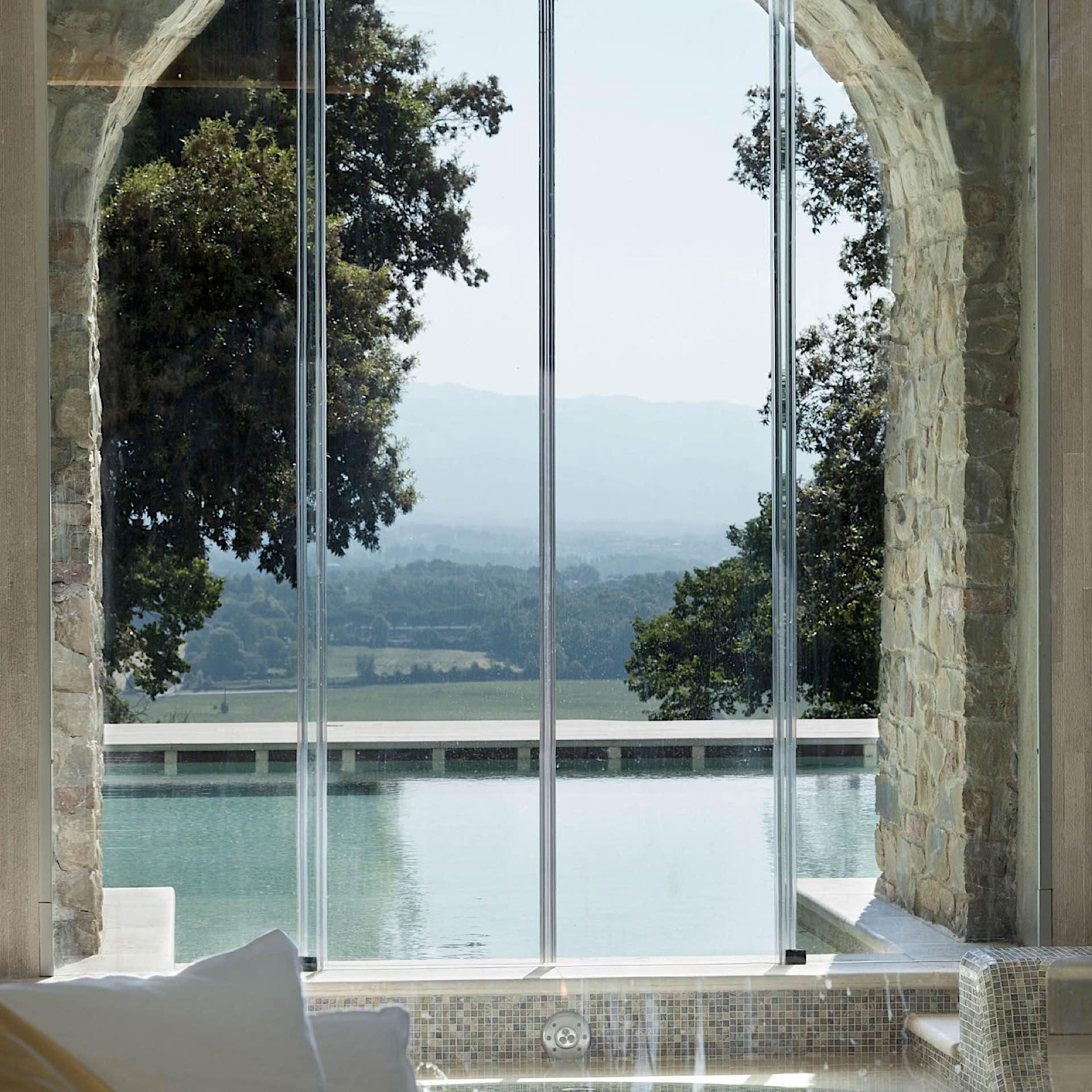 Spa View | Villa Le Maschere