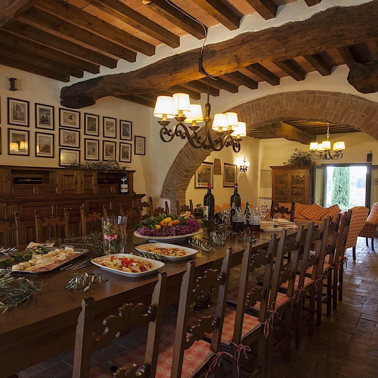 Dining Room   Fattoria Santo Stefano