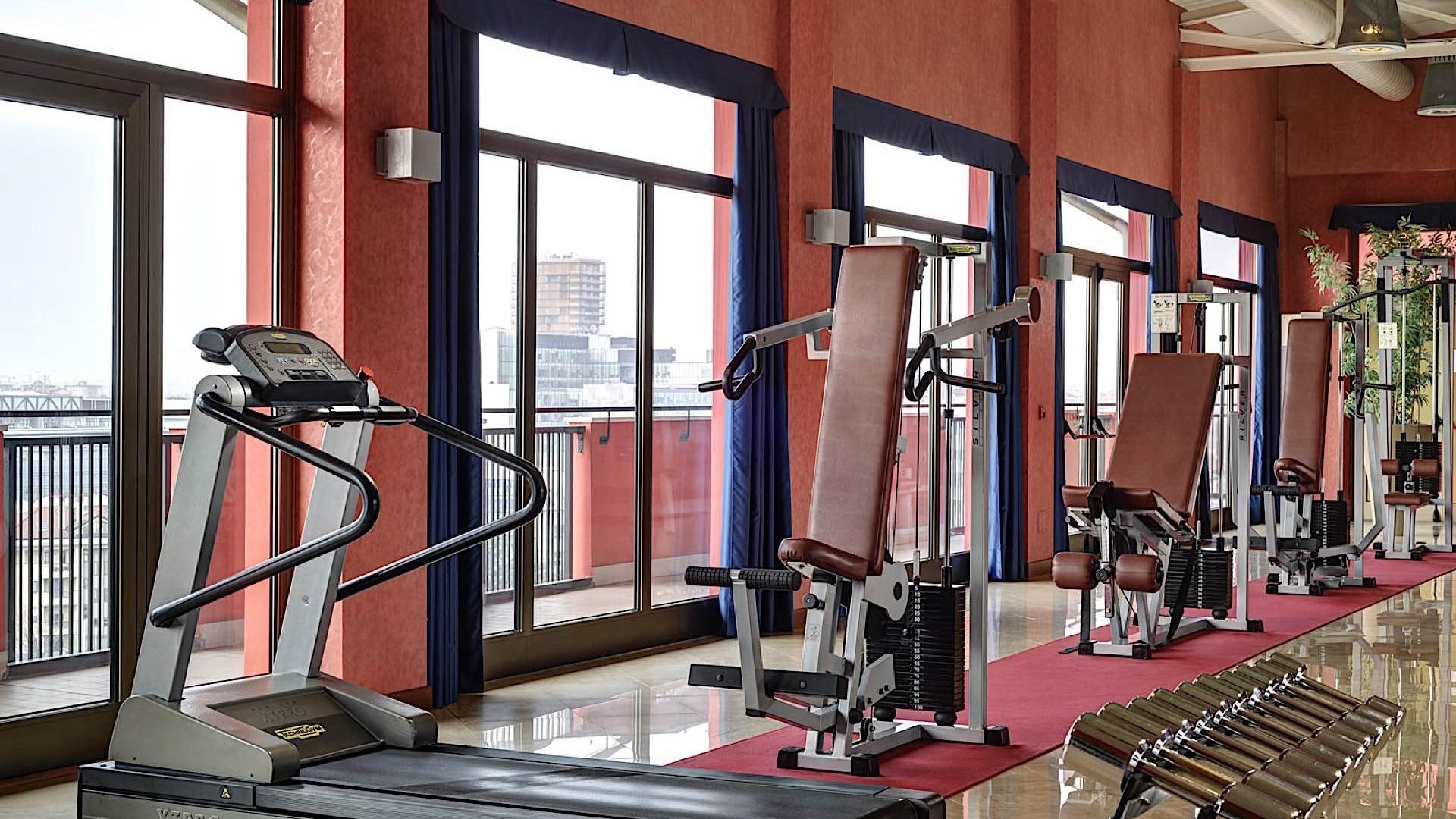 Fitness Room | Contessa Jolanda Hotel & Residence Milano