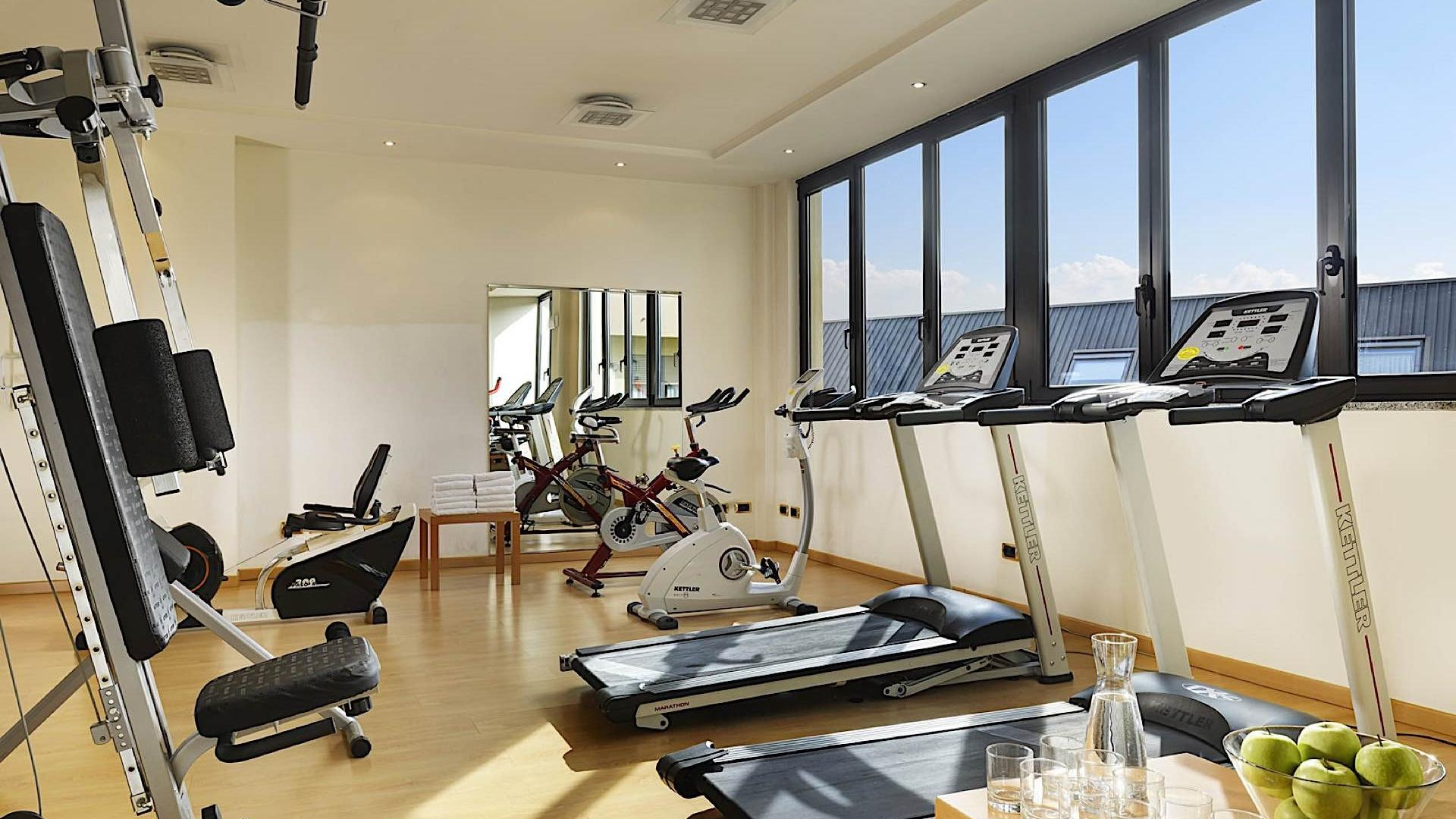 Fitness Room | Linea Uno Hotel & Residence Milano