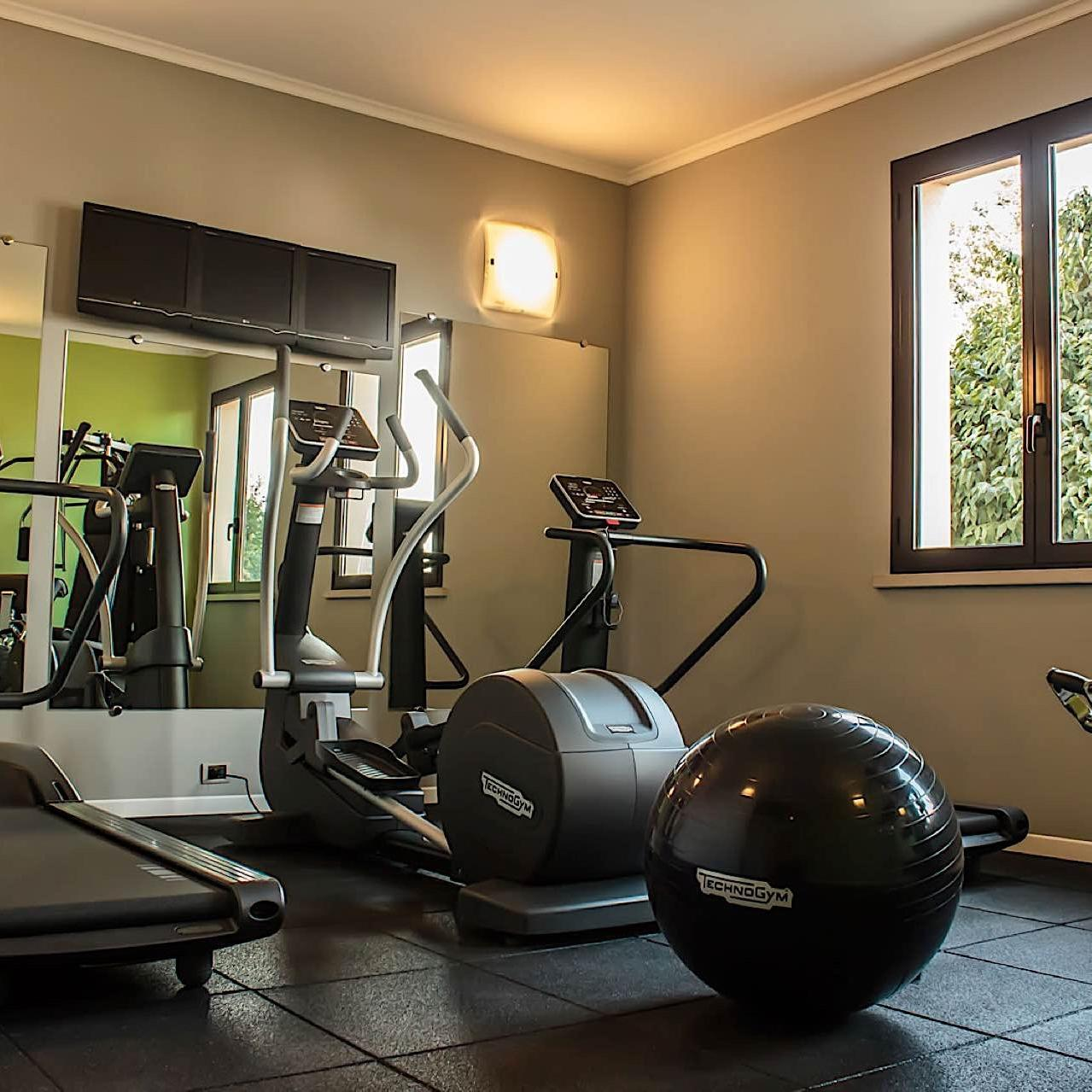Fitness Room | UNAWAY Hotel Occhiobello