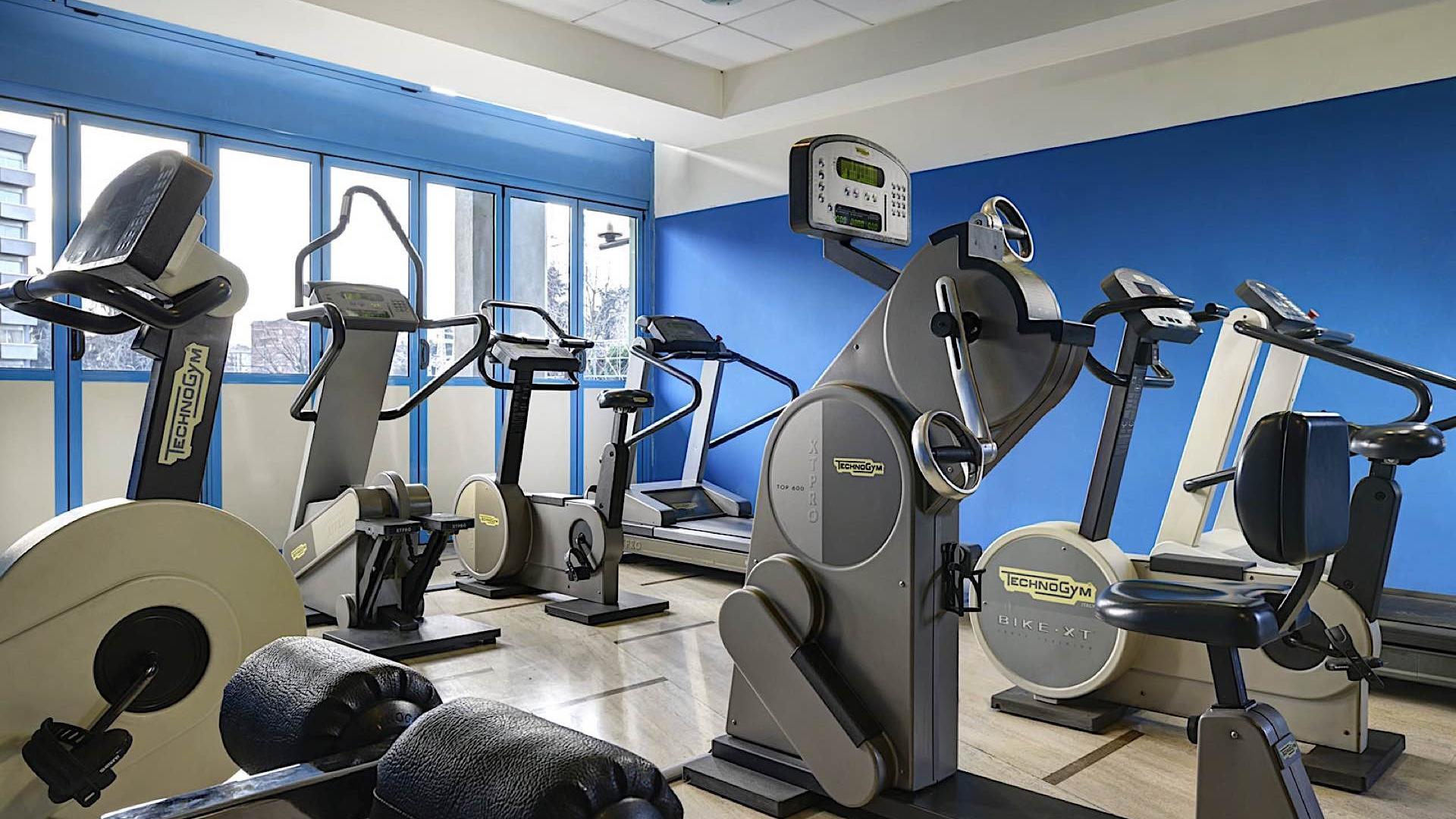 Fitness Room   Quark Due Hotel & Residence Milano