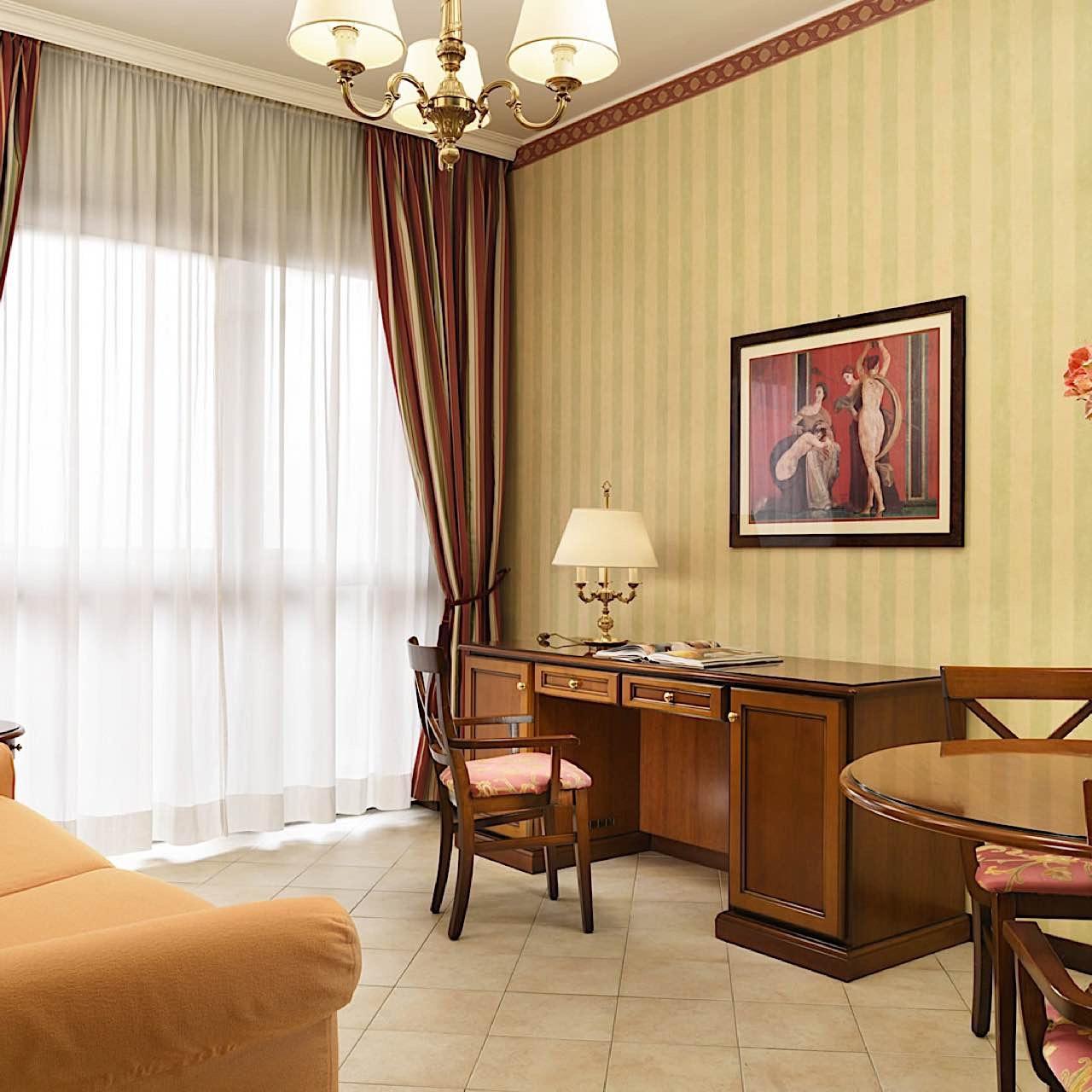 Living | Contessa Jolanda Hotel & Residence Milano