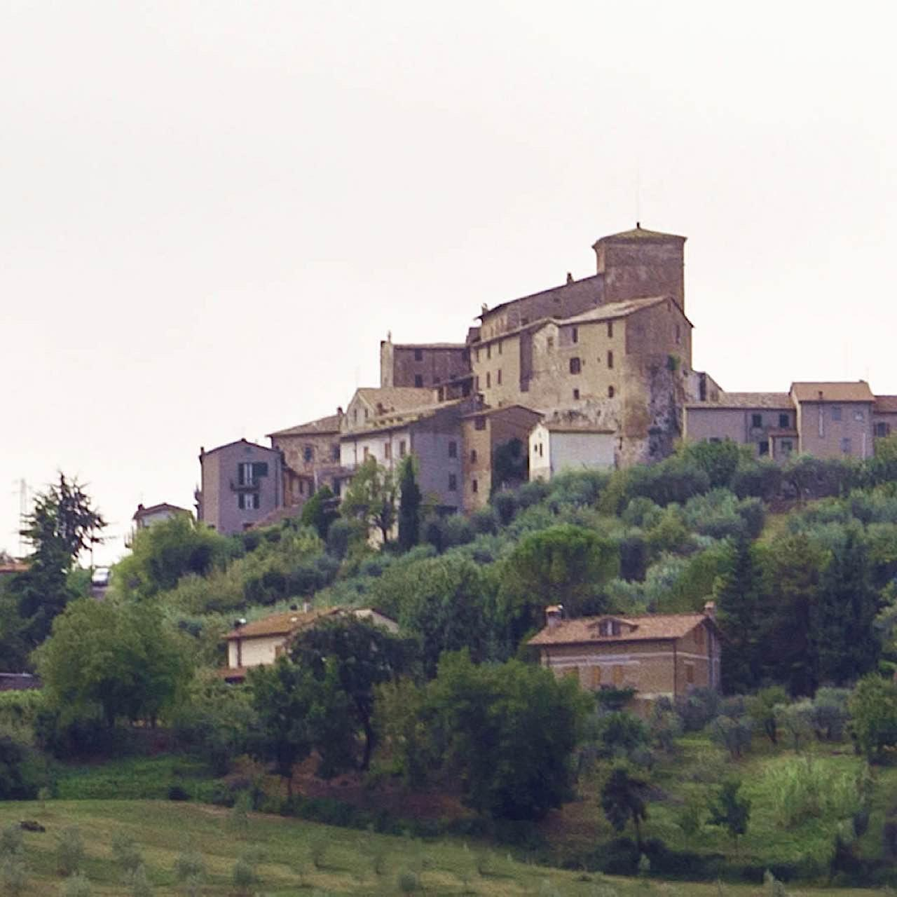Fabro and Orvieto area