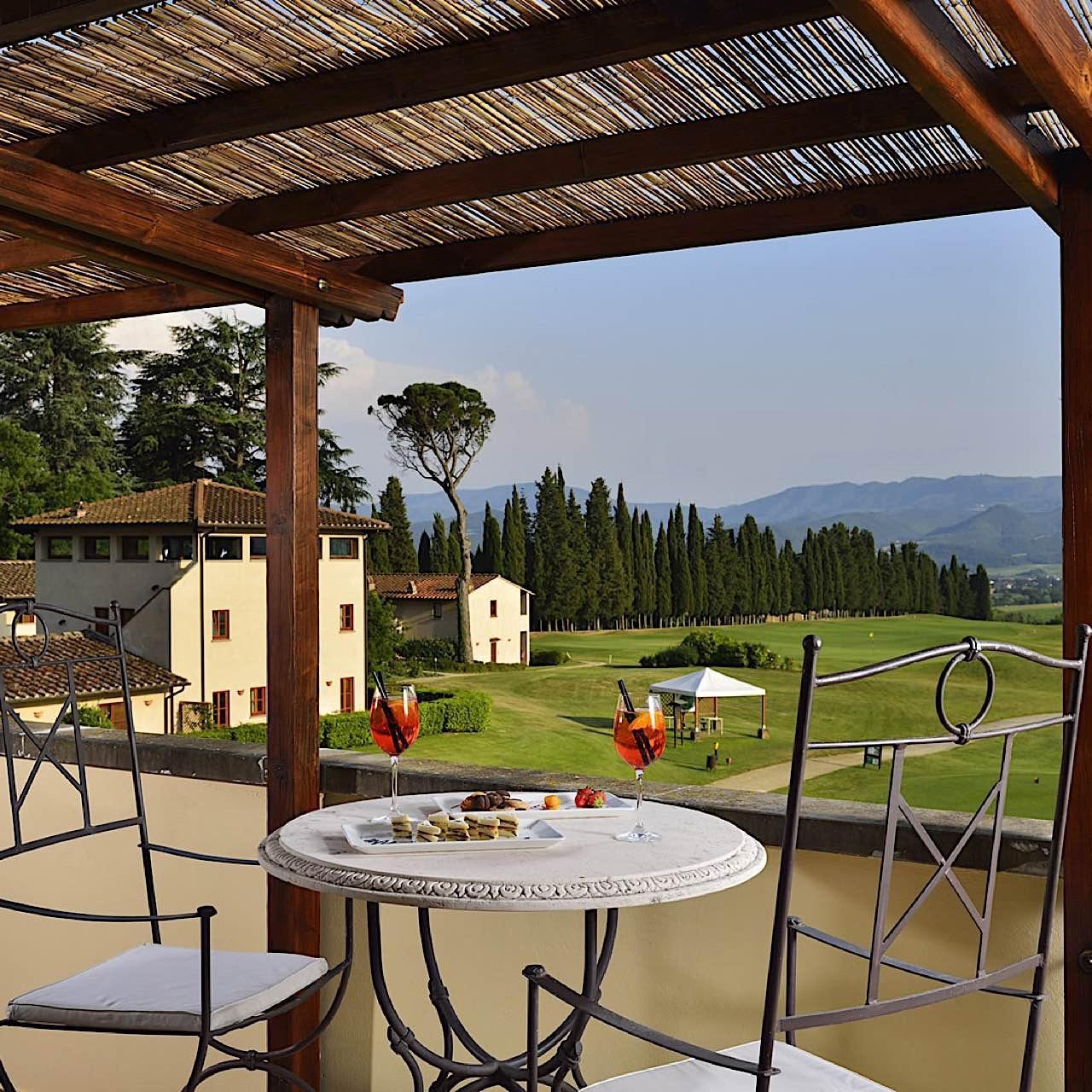 Junior Suite balcony | Poggio dei Medici Toscana
