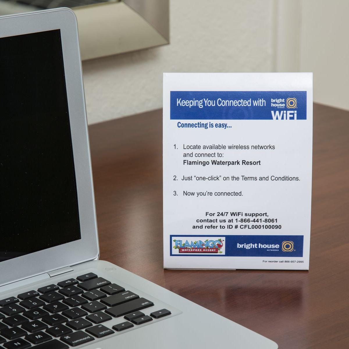 WiFi Information Card