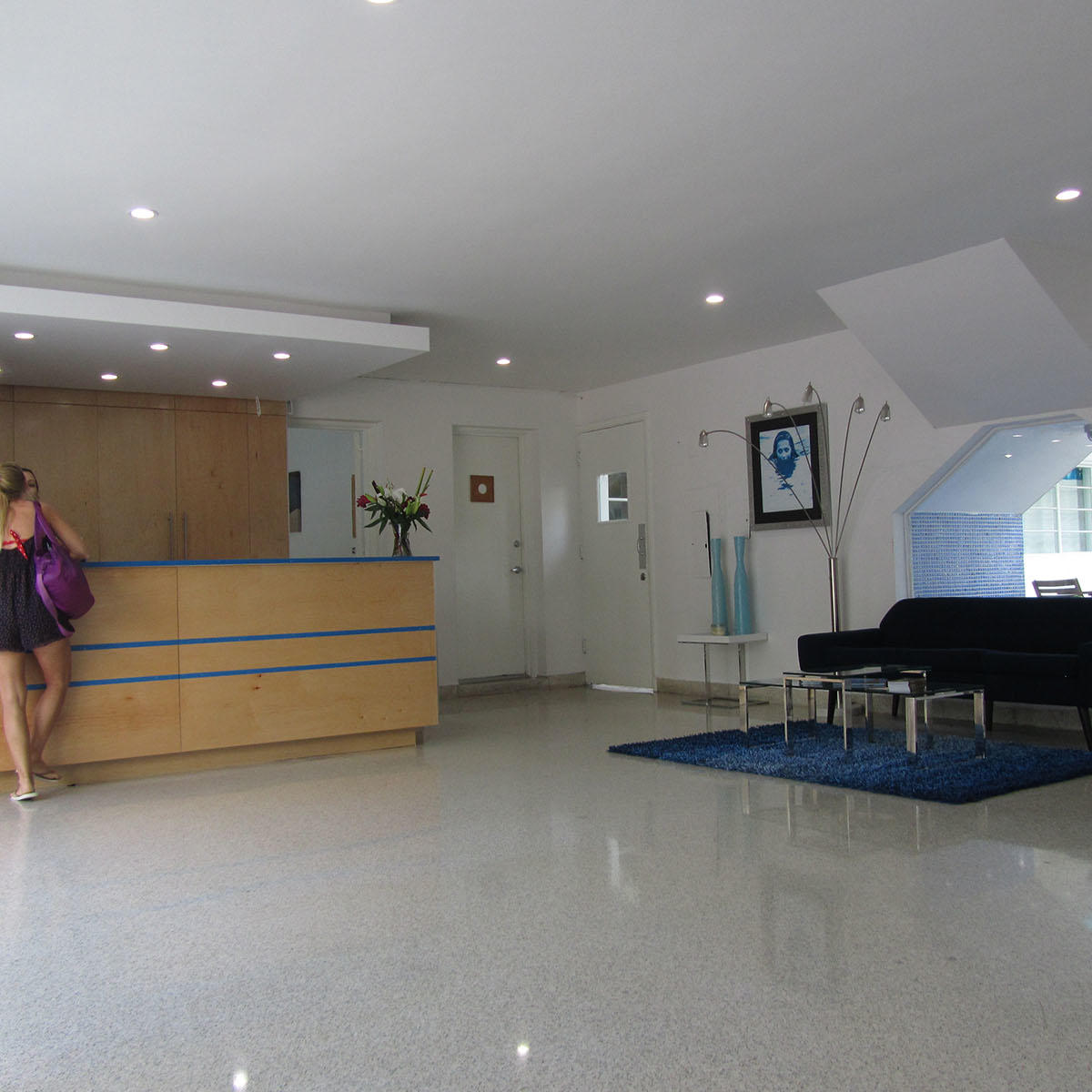 Reception area