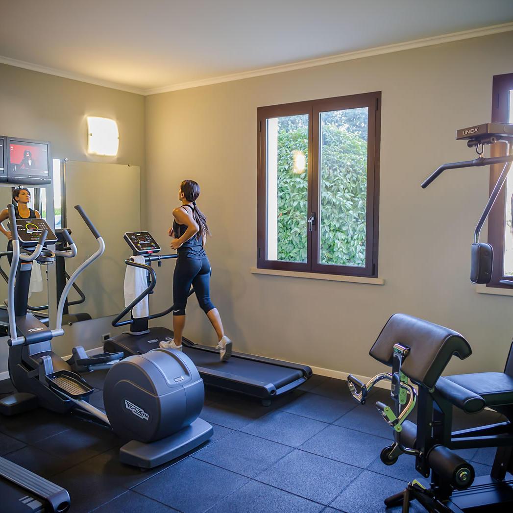 Gym | UNAWAY Hotel Occhiobello